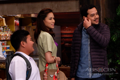 BEHIND-THE-SCENES: Julie at Rome, balik-bahay na!