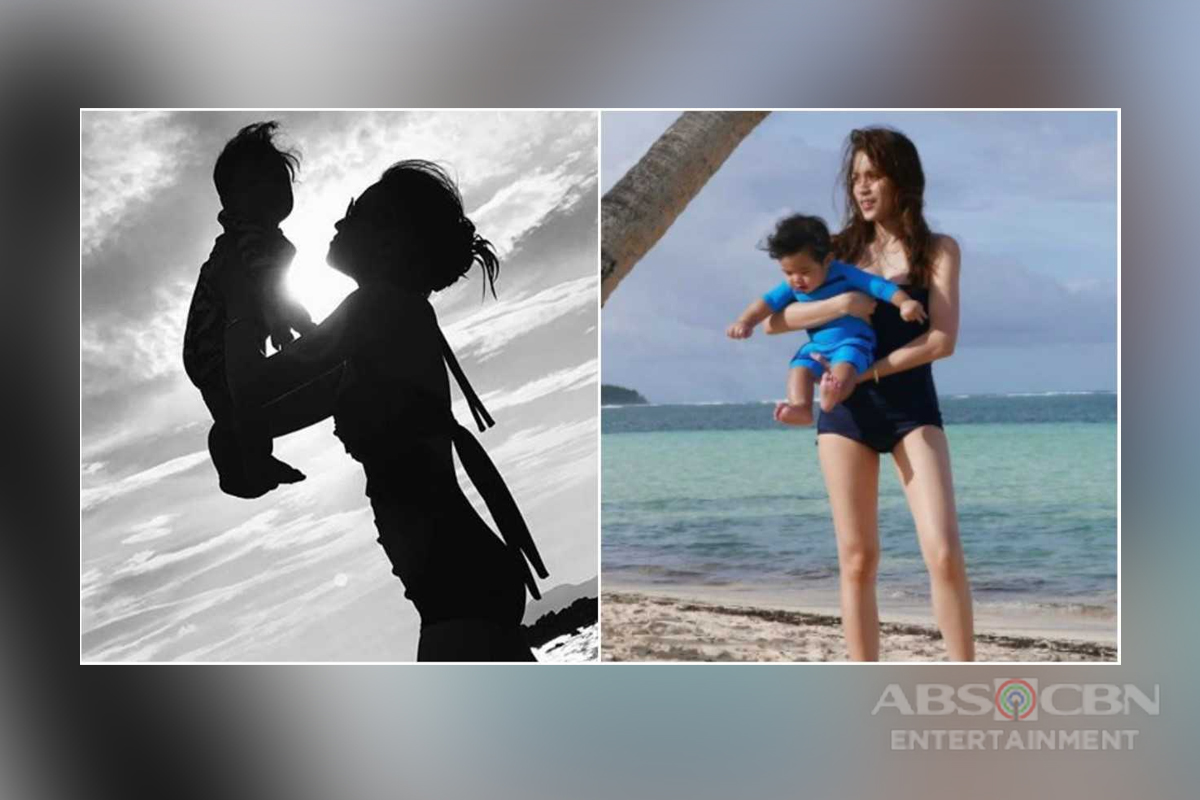 20 Cutest Mommy And Baby Moments of Toni And Seve