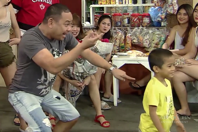 Obet, may ipinakitang magic tricks kay Carlo