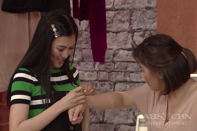 Home Sweetie Home: Mikee, may ibinigay na bracelet kay Gigi
